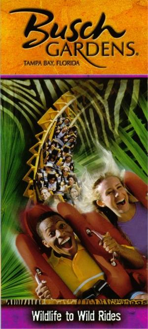 Busch Gardens Brochure